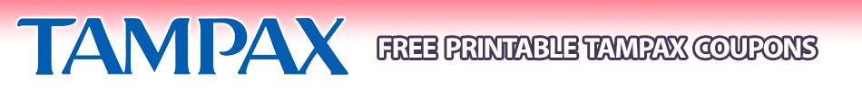 tampax tampon coupons printable pearl