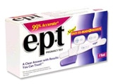 Pregnancy test mobile coupons