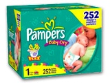 Pampers Diapers & Baby Care Coupons