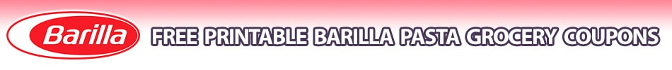 barilla coupons printable grocery coupons