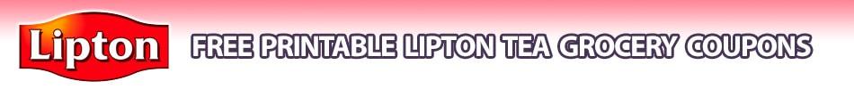 lipton coupons printable grocery coupons