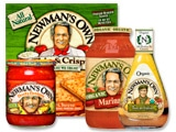 Newman's Own Salad Dressing & Pizza Coupons