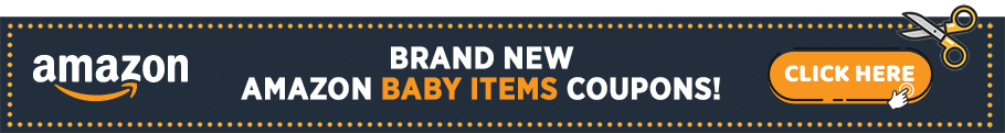 Amazon Coupons Banner - Baby Items