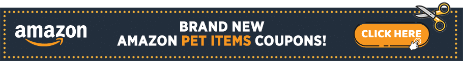 Amazon Coupons Banner - Pet Items