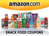 Amazon.com – Snack Food Coupons