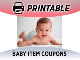 Baby Item Coupons, Toddler Items, etc.