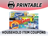 Household Cleaning Products Coupons, Supplies