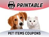 Grocery Pet Food Coupons & Pet Items
