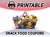 Snack Food Coupons, Food & Snack Items