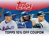 Topps.com 10% Off Coupon Code